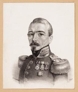 Portret van Christian Heinrich Gottlieb Steuerwald (1802-1874)