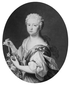 Portret van een meisje, mogelijk een dochter uit het tweede huwelijk van Martinus van Scheltinga