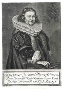 Portret van Johann Jacob Pömer (1614-1669), jurist en senator te Neurenberg