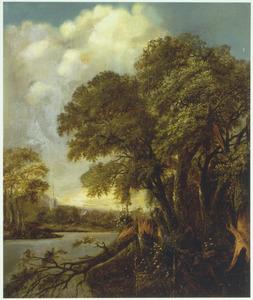 Landschap met rivier