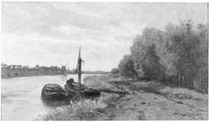 Poldervaart bij Schiedam