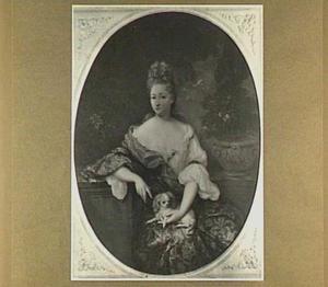 Portret van een vrouw, 1694
