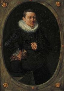 Portret van een 22-jarige man, mogelijk een zelfportret