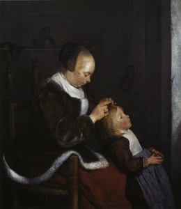 Luizende moeder