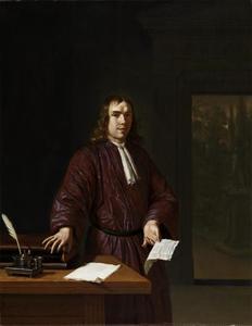 Portret van Samuel van Acker (1658-?)