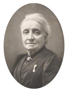Portret van Henriette Ronner-Knip (1821-1909)