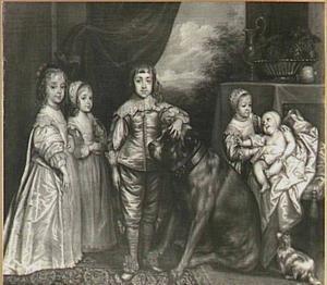 De vijf kinderen van Karel I Stuart (1600-1649) en Henriëtta Maria de Bourbon (1609-1669): Charles (1630-1685), Mary (1631-1660), James (1633-1685), Anne (1637-1640) en Henriëtta (1644-1670)
