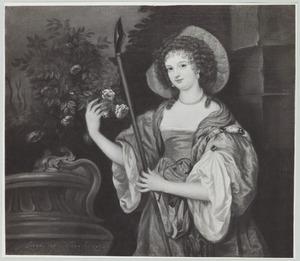 Portret van Emilia van Nassau -Beverweerd