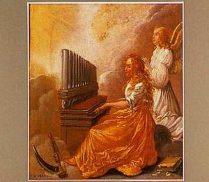 De heilige Cecilia