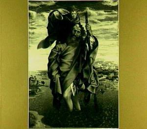De H. Christoforus met het Christuskind op zijn schouders