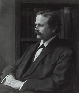 Portret van Albert Narath (1864-1924)