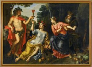Bacchus, Ceres, Proserpina en Pluto