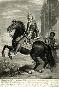 Ruiterportret van Frederick Hermann von Schomberg (1615-1690)
