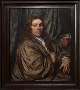 Portret van een man, waarschijnlijk Rutger Tichler (1639-1679)