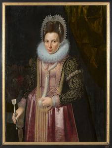Portret van Maria van Voorst van Doorwerth (1575-1610)