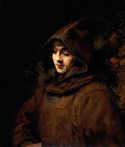 Titus als monnik