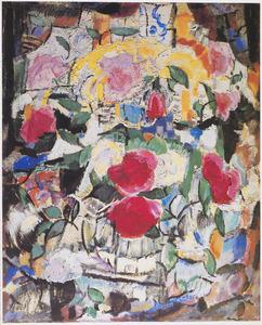 Kubistisch bloemstilleven