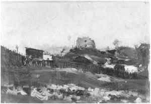 De steengroeve bij Montmartre