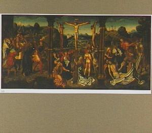 De kruisdraging, de kruisiging, de bewening
