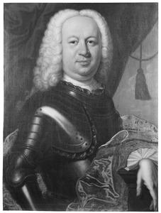 Portret van Maurits Lodewijk II van Nassau -la Lecq ( -1740)