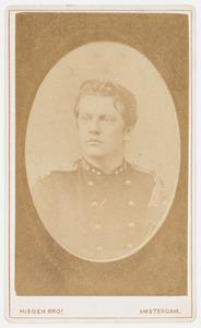 Portret van dr. H.T.  v.d. Hout