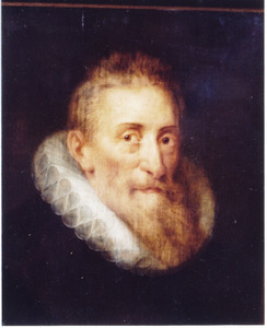 Portret van een 70½-jarige man, volgens het opschrift Ludwig van Falkenberg