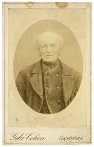 Portret van Jan Ekkes Boersema (1813-1902)