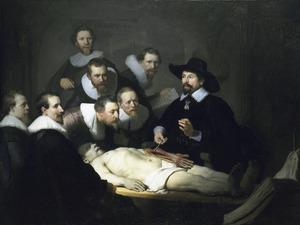 Anatomische les van Nicolaas Tulp (1593-1674)