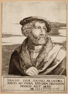 Portret van Lucas Gassel (1500-1568)