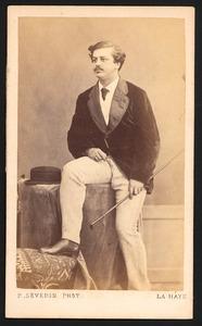 Portret van Jan Daniel Cornelis Carel Willem de Constant Rebecque (1841-1893)