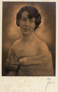 Portret van Cornelia Gualtheria Gevers (1897-1958)