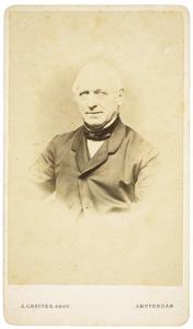 Portret van Cornelis Albertus Gobius (1805-1875)