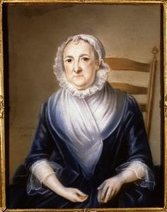 Portret van Marie Elisabeth Veron (1705-1790)