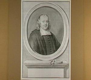 Portret van Gaspar Fagel (1634-1688), raadpensionaris van Holland