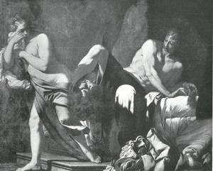 Tamar mishandelt door Amnon