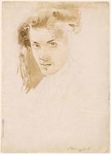 Zelfportret van Charles Fairfax Murray