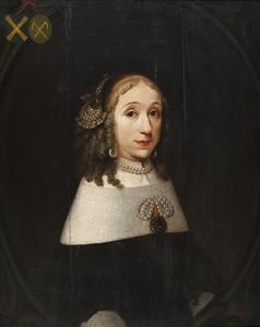 Portret van Constantia Deutz (1629-1670)