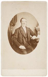 Portret van Christian Ludewig Rümke (1797-1870)