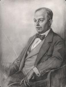 Portret van Hagemeijer