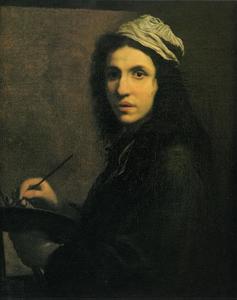 Zelfportret van Claude Albert Sevin (1649-1676)