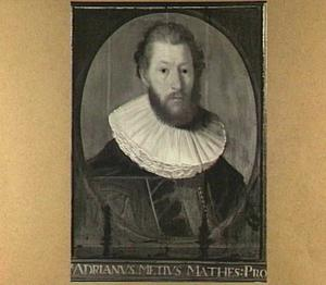 Portret van Adriaan Metius (1571-1635), hoogleraar