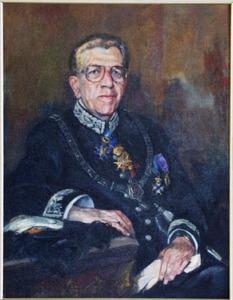 Portret van Alphonsus Maria Ignatius Hubertus Baeten (1920-1996)