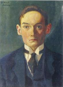 Portret van Cornelis (Kees) Schrikker (1898-1993)