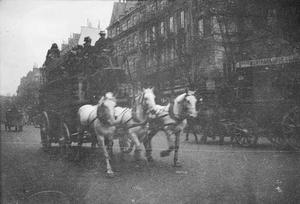 Paardenkoets te Parijs