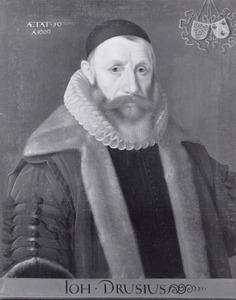 Portret van Johannes Drusius (1550-1616)