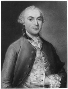 Portret van Jan Harmen Lohman (1727-1764)