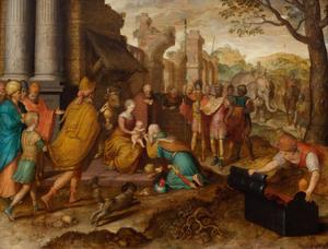 De aanbidding der koningen (Matteus 2: 1-12)