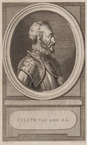 Portret van Philips van der Aa (1515-....)