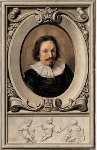 Portret van Pieter Saenredam (1597-1665)