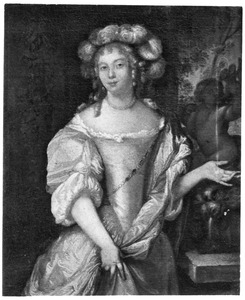 Portret van Brigitta Backer (1643-1717)